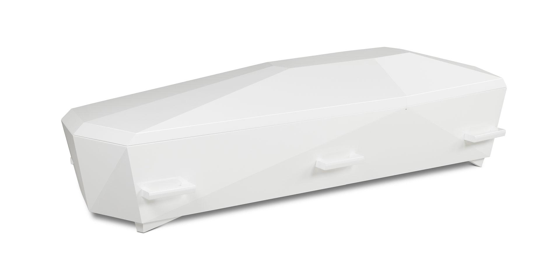 Kiste Diamant hvit