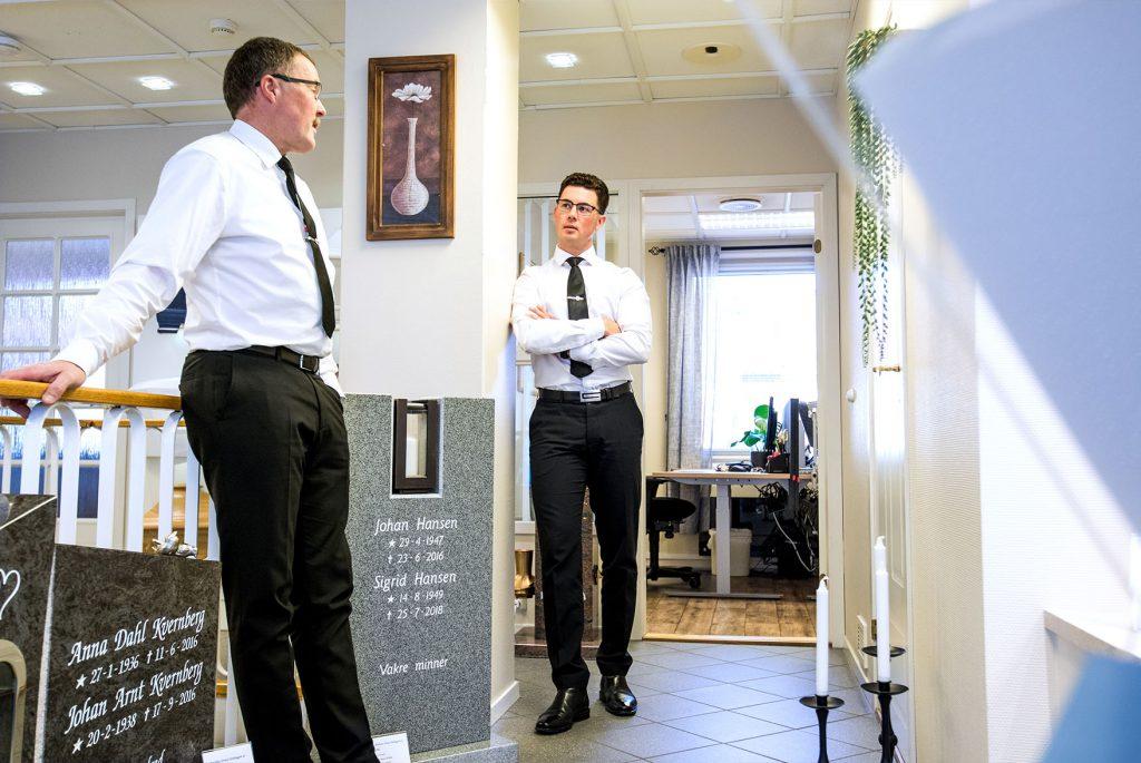 Kjell-Oddvar og Eirik er ikke bare far og sønn og arbeidskolleger – men også bestekamerater.